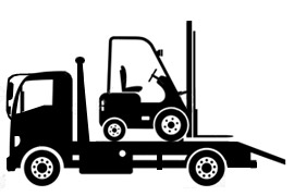 tauranga machinery towing, forklift transport, bobcat transport, diggers transport